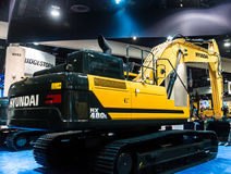 Large Tracked Excavator Royalty Free Stock Image