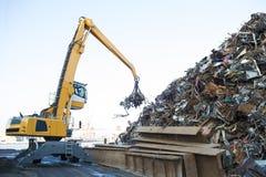 Large tracked excavator Royalty Free Stock Image