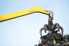 Large tracked excavator Stock Image