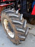 Large Tractor Tyre Stock Image