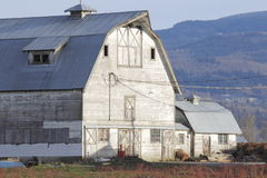 Large Traditional Barn Facade Royalty Free Stock Images