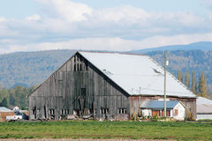 Large Traditional Hay Barn Royalty Free Stock Photo