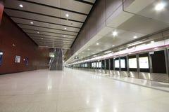 Large train station. Lobby in hong kong Stock Photo