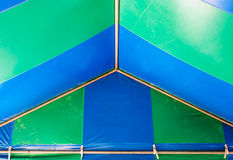 Large triangle tent Royalty Free Stock Photo