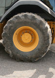 Large truck tire Stock Images