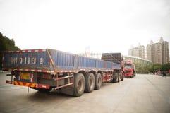 Large trucks Stock Photos
