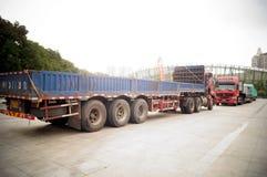 Large trucks Stock Image