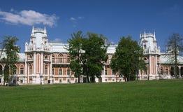Large Tsaritsyno Palace Stock Photography