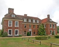 Large Tudor House Royalty Free Stock Photo