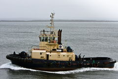 Large tug boat at sea. Stock Photography