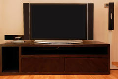 Large TV Royalty Free Stock Photography