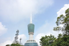 Large tv tower Stock Photo