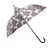 Large umbrella. Isolated on white Stock Photo