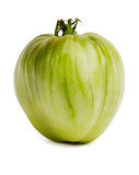 Large unripe tomatoes Stock Images
