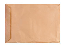 Large used envelope isolated. Stock Photography