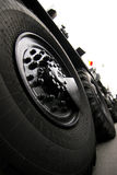 Large Vehicle Tires Stock Photos