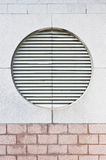 Large ventilator. A large ventilator in the external wall of a swimming pool building Stock Photography