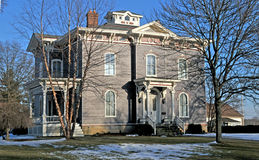 Large victorian home. Image of a largte victorian home Royalty Free Stock Image