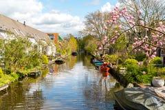 Beautiful small canal Stock Photo