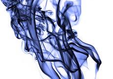 Large violet smoke Stock Photo