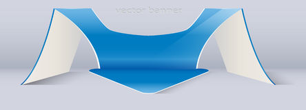 Large volume vertical 3D pointer as an arrow. Large volume vertical 3D pointer in the form of arrows Royalty Free Illustration