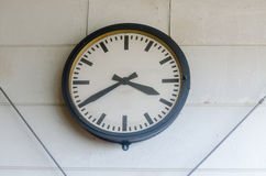 Large wall clock Stock Image
