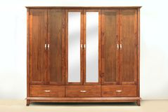 Large wardrobe Stock Photo