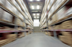 Large warehouse Stock Photography