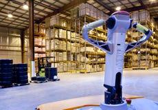 Large warehouse Stock Image