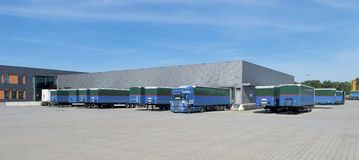 Large warehouse building Stock Photography