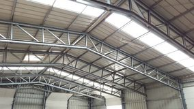 Large warehouse or depot Stock Photos