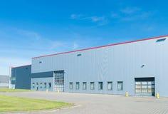 Large warehouse exterior Stock Photos
