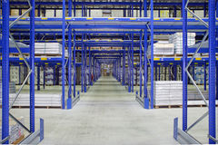 Large warehouse Royalty Free Stock Photography