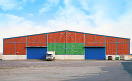 Large warehouse. Stock Photography