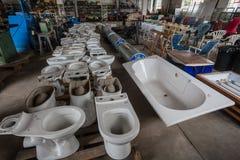 Auction Warehouse Domestic Appliances Stock Photos