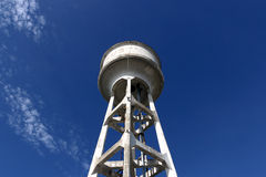 Large water tank outdoors. A large water tank for the industry Royalty Free Stock Photo