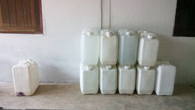 Large water tank Royalty Free Stock Photo
