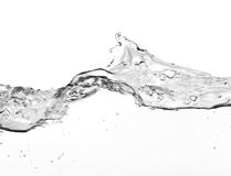 Large water wave Royalty Free Stock Images