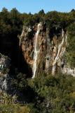 Large waterfalls. At lake Plitvice, Croatia Stock Photo