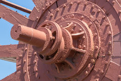 Large waterwheel Stock Photo