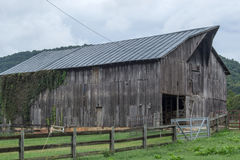Large Weathered Barn Royalty Free Stock Photo
