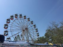Large wheel in the festival of punjab royalty free stock images