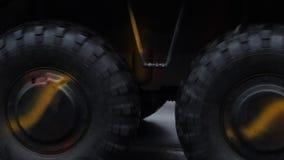 Large Wheels stock footage