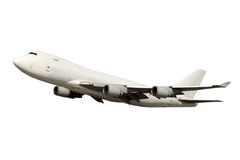Large white aircraft Stock Photos