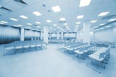 Large white auditorium royalty free stock image