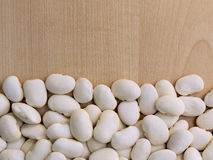 Large white beans Stock Photography