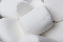 A large white marshmallow Stock Image