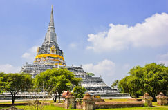 Large white pagoda Royalty Free Stock Images
