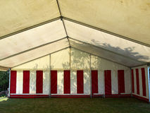 Large white party tent. Party events wedding celebration banquet tent Royalty Free Stock Images