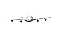 Large white plane Royalty Free Stock Photography
